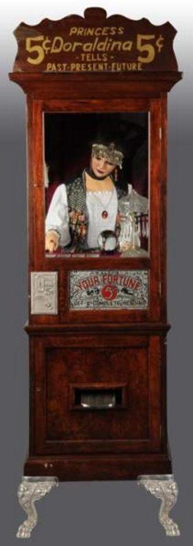 Doraldina Corporation Princes Doraldina fortune teller machine