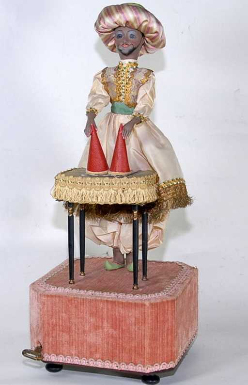 Farkas Jean French magic trick musical automaton
