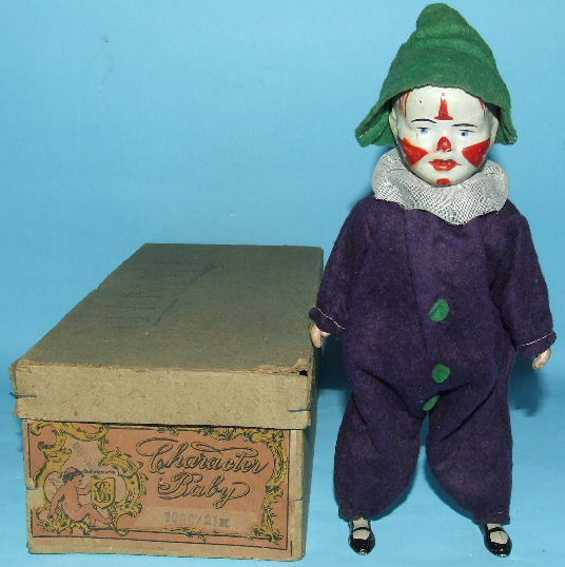 guenthermann 1000/2 automaton character baby wind-up clown