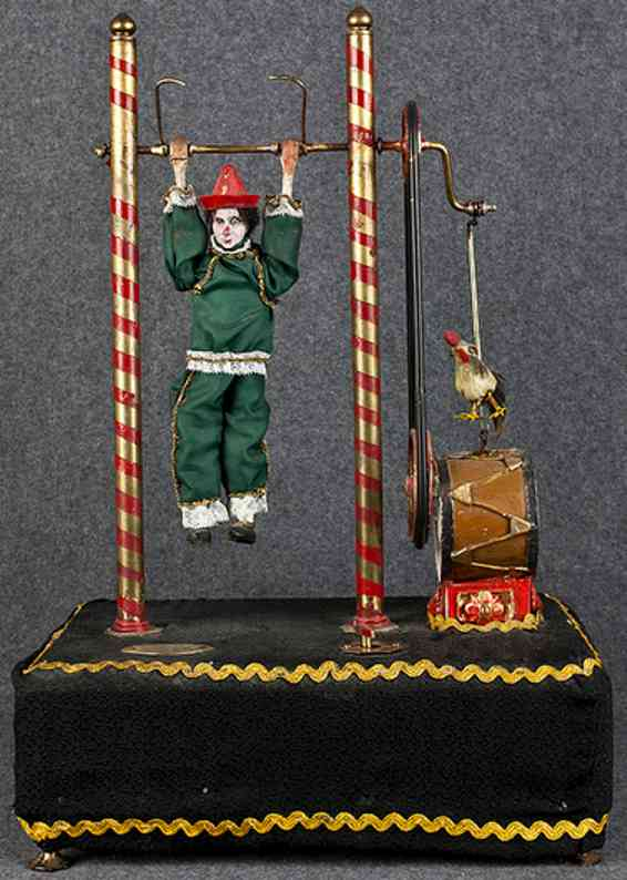 Larribe fils Lyon Clown automaton