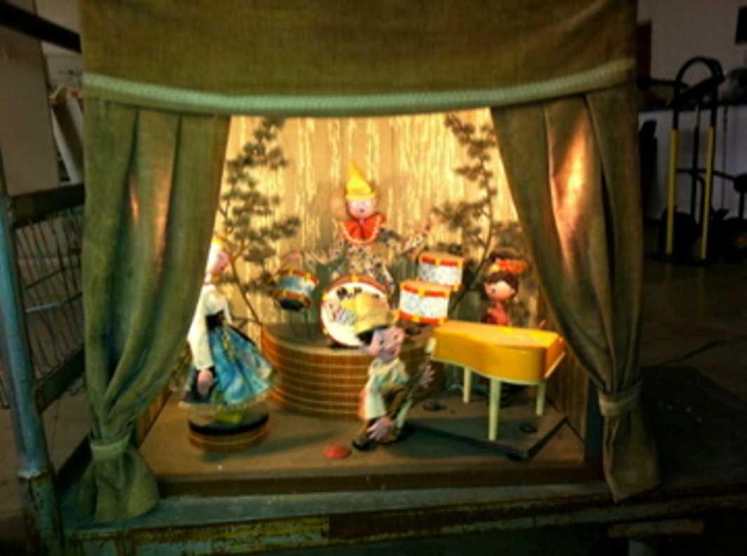pelham automat pelham marionetten automat. elektronisches puppentheater mit