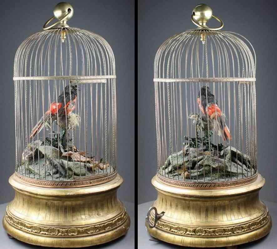 phalabphalabois,jean-marieois automat singvogel im kaefig