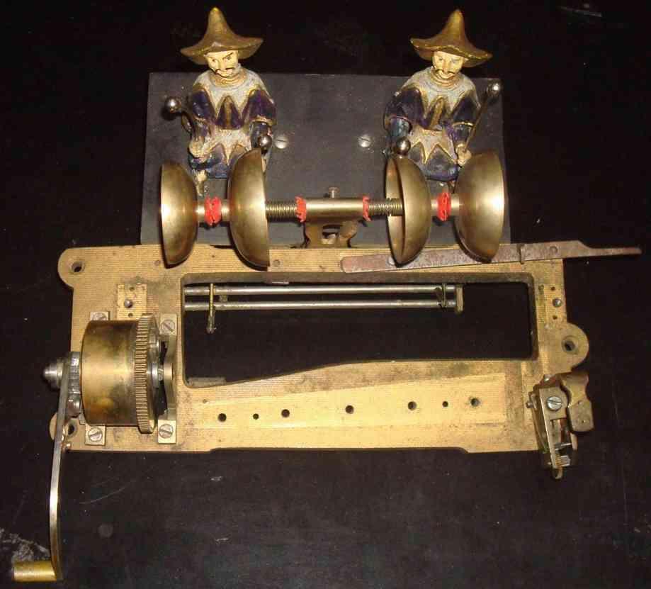 ullman charles music boX automaton two mandarin strikes four bells