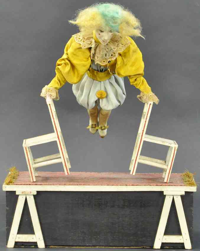 automaton acrobatic clown