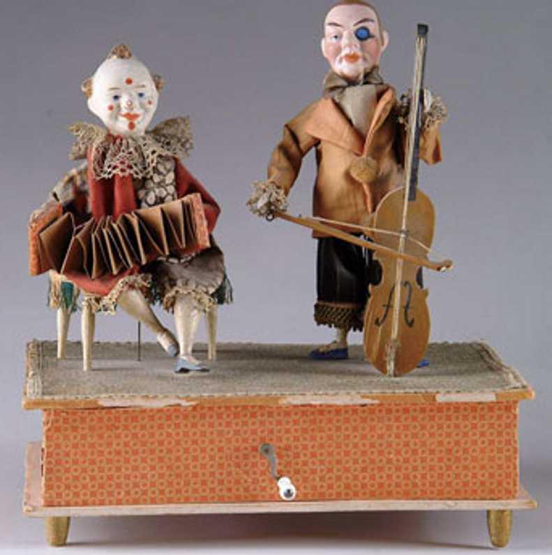 Kurlautomat, zwei Musiker