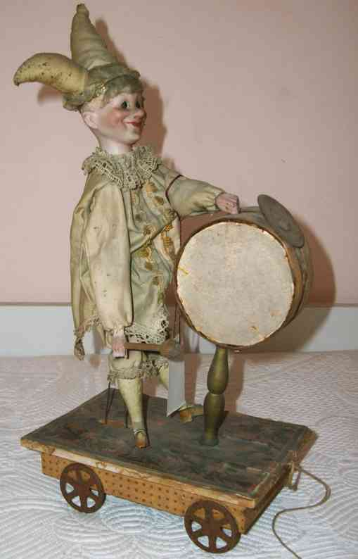 Automata clown with drum