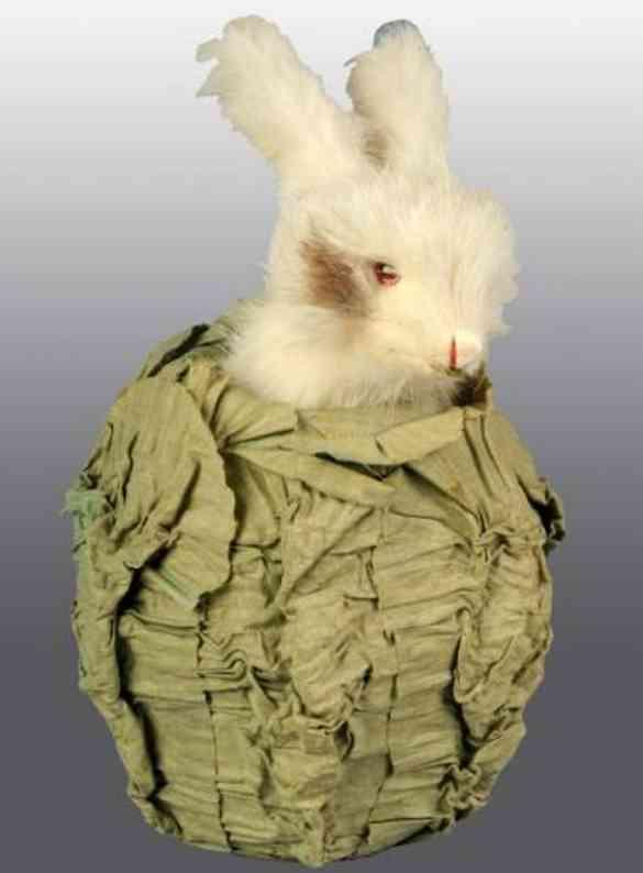 Automat Östereichisches Kaninchen in Kohl mit Spieldose