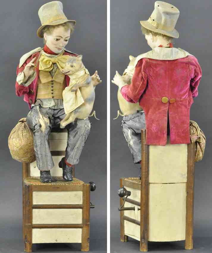 vichy automaton paddy and the pig