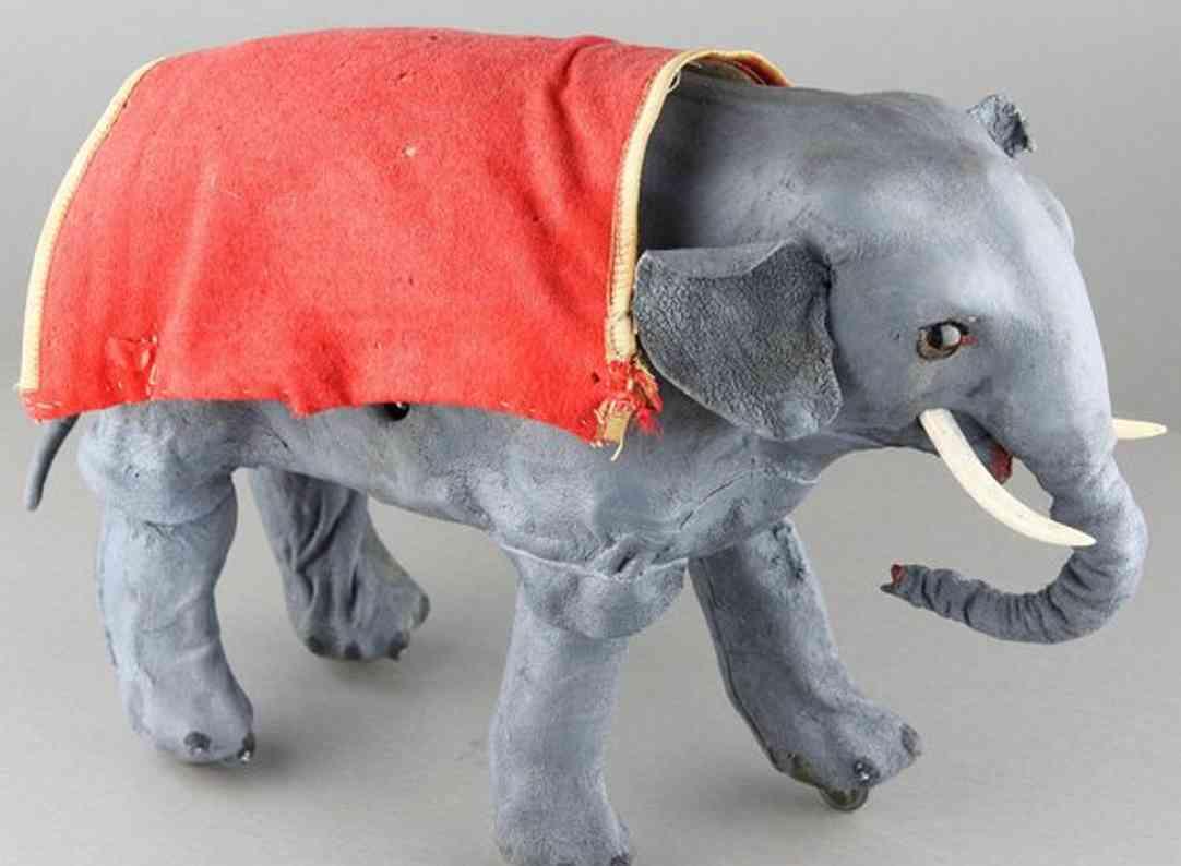Rouillet & Decamps Laufender Elefant