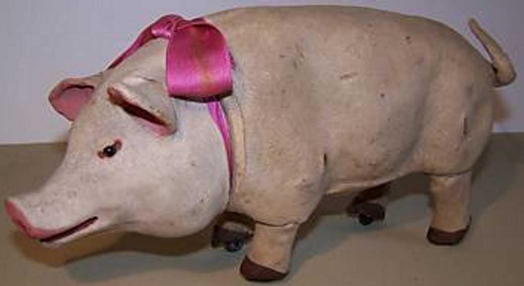 Rouillet & Decamps 651 Automaton Pig