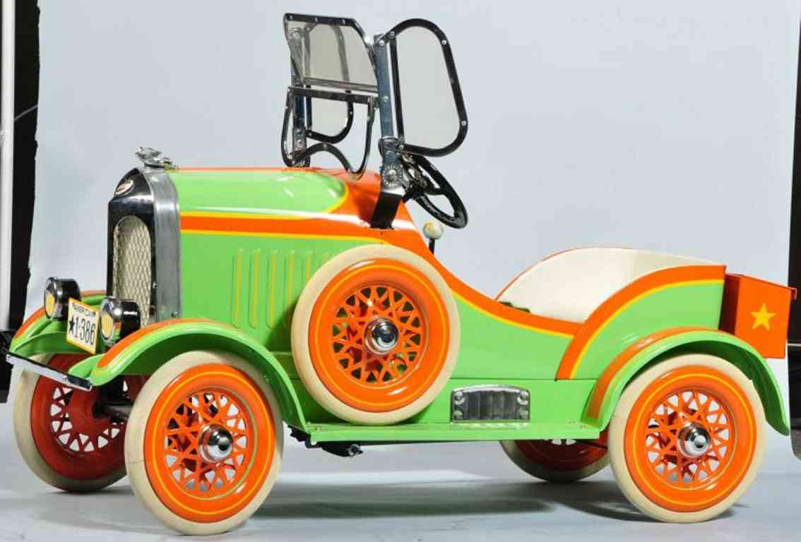 American National Co. Cord pedal car