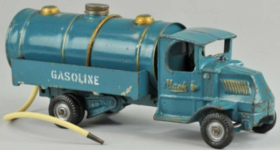 Arcade 241X Mack Spielzeug Benzintankwagen aus gusseisen in blau