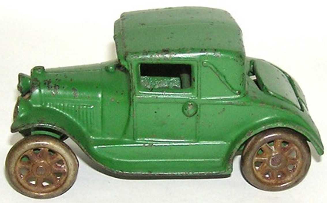 arcade spielzeug gusseisen auto ford model a coupe mit  notsitz