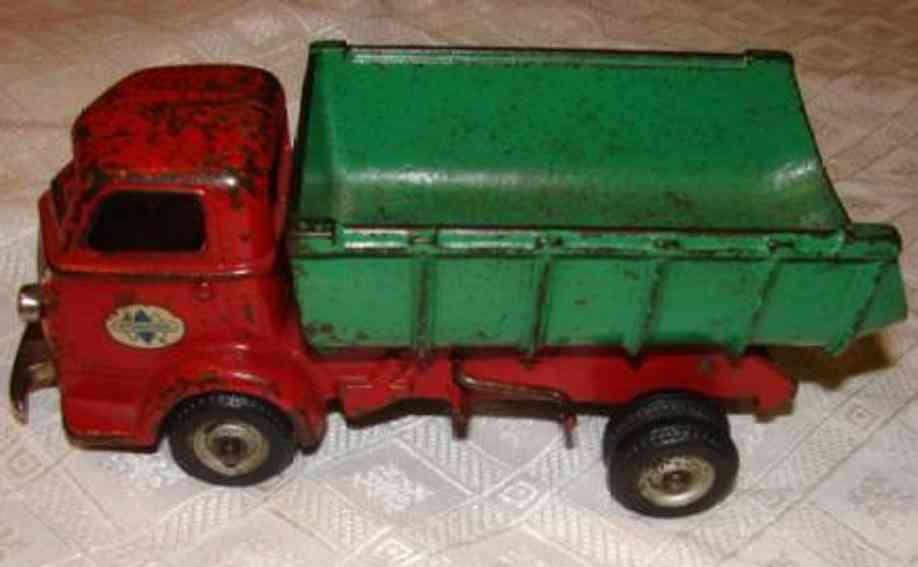 arcade spielzeug gusseisen harvester kipplastwagen