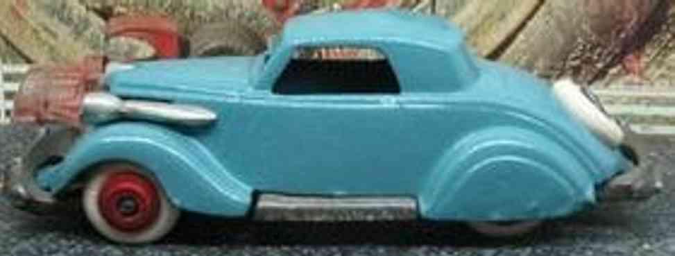 arcade spielzeug gusseisen auto studebaker blau