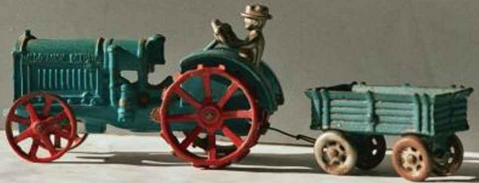 arcade spielzeug gusseisen traktor mc dormick deering
