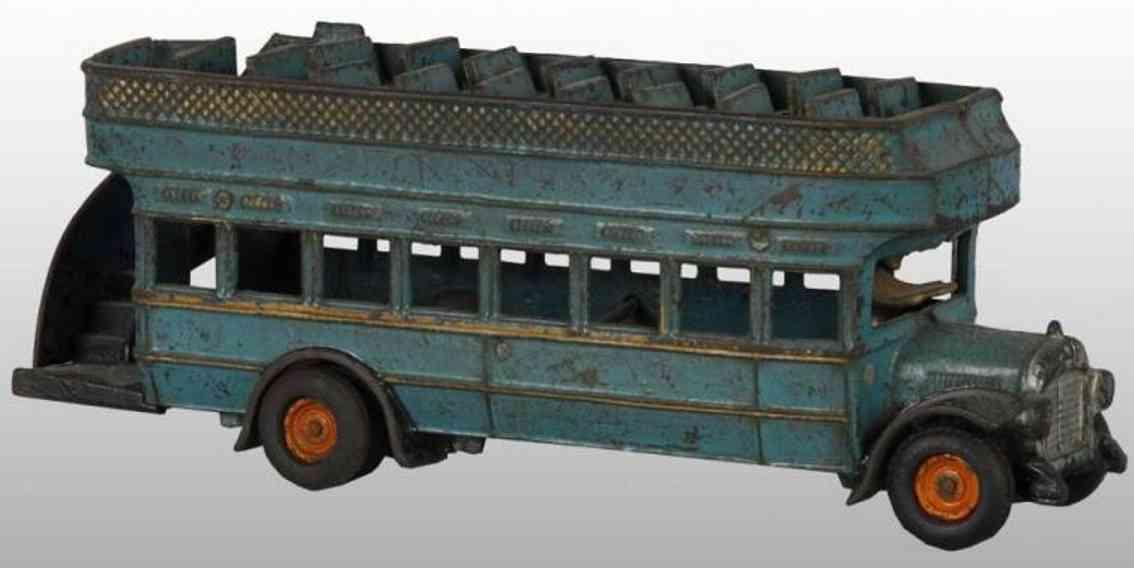 Arcade Doppeldeckerbus aus Gusseisen