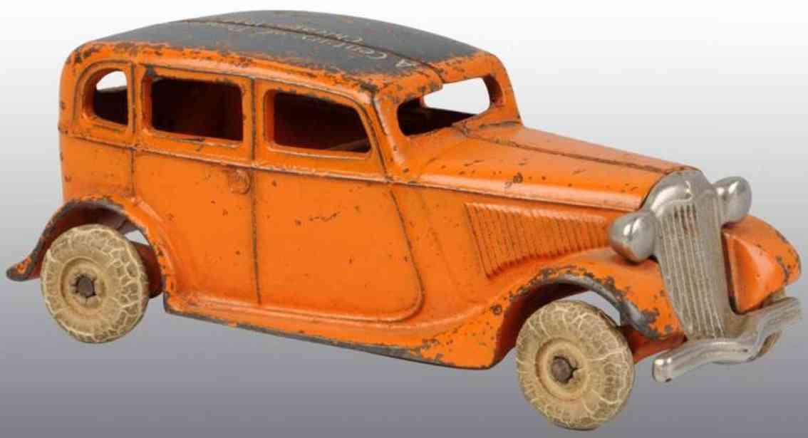 arcade cast iron toy car cast iron century of progress coupe