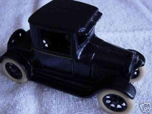arcade cast iron toy car chevrolet utitlity coupe