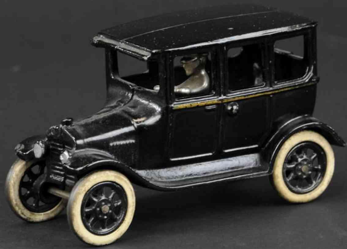 arcade spielzeug gusseisen auto chevrolet superior schwarz