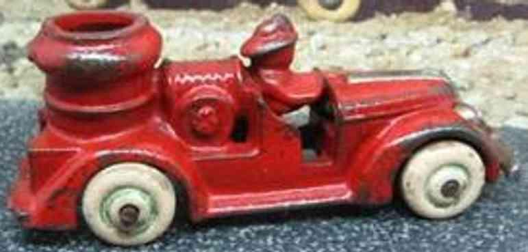arcade 2340 spielzeug gusseisen tankloeschfahrzeug