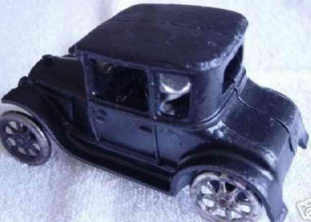 arcade spielzeug gusseisen auto ford coupe schwarz