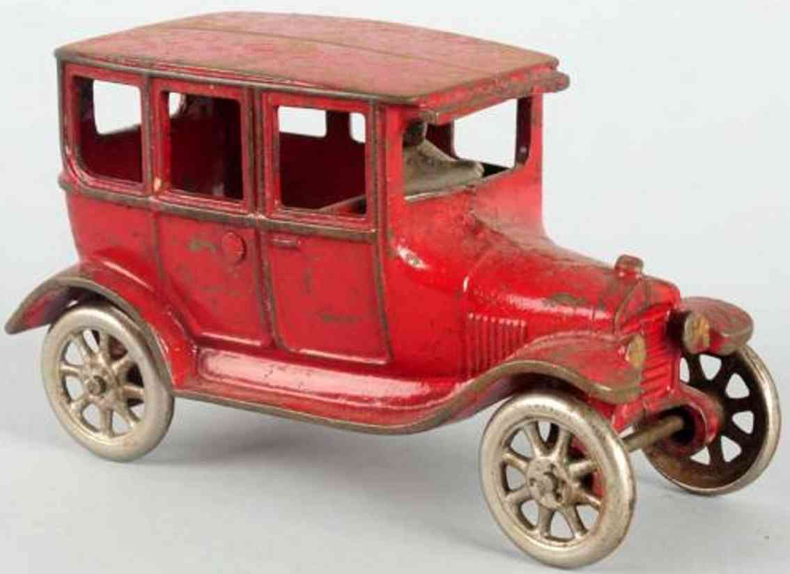 arcade spielzeug gusseisen auto ford modell t rot