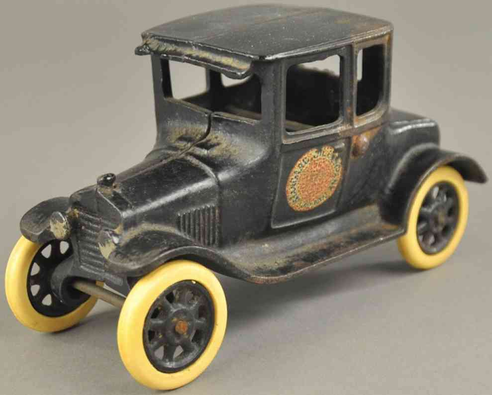 arcade gusseisen auto ford coupe modell t schwarz standard oil company