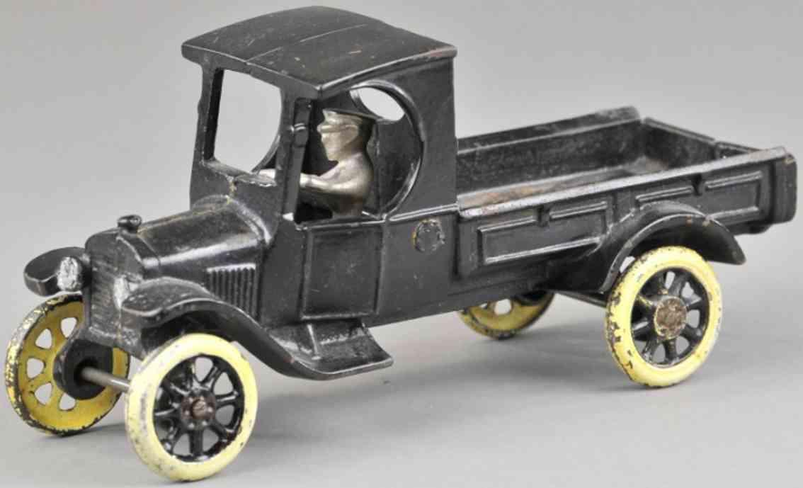 arcade gusseisen ford lastwagen eine tonne modell t schwarz