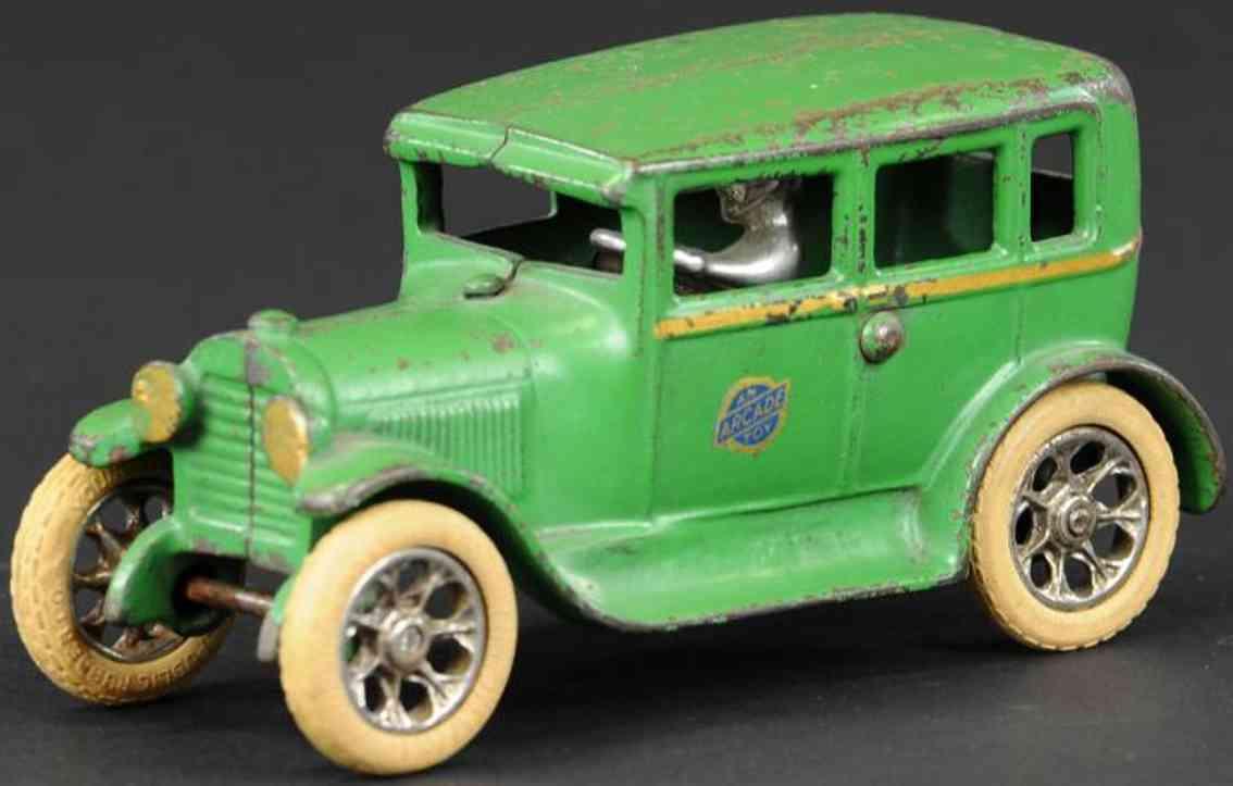 arcade gusseisen auto ford modell a gruen