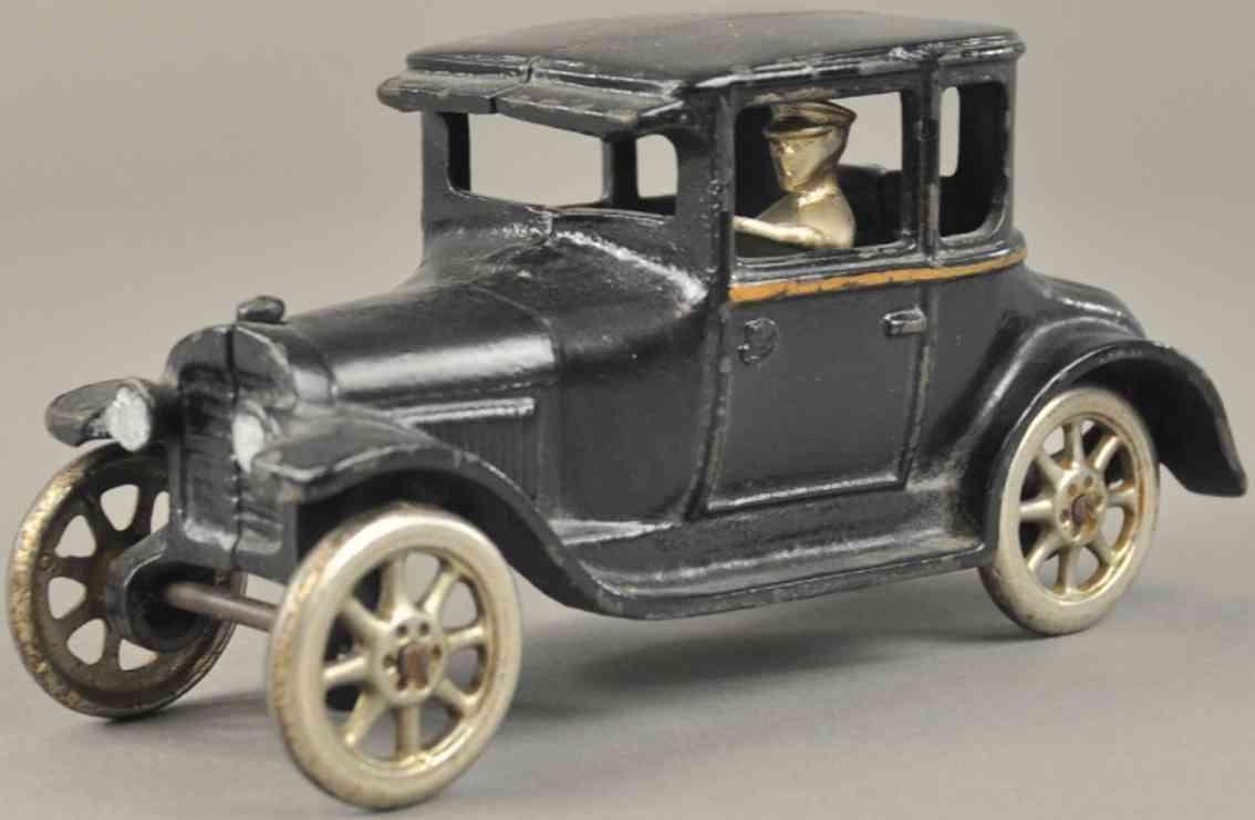 arcade spielzeug gusseisen auto ford coupe modell t schwarz