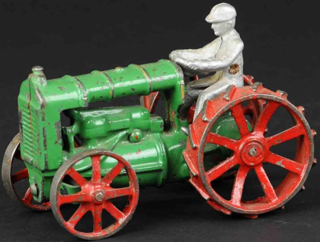 arcade spielzeug gusseisen fordson traktor gruen