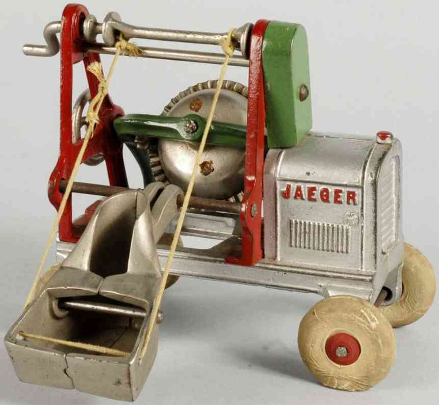 Arcade Cast iron Jaeger concrete mixer