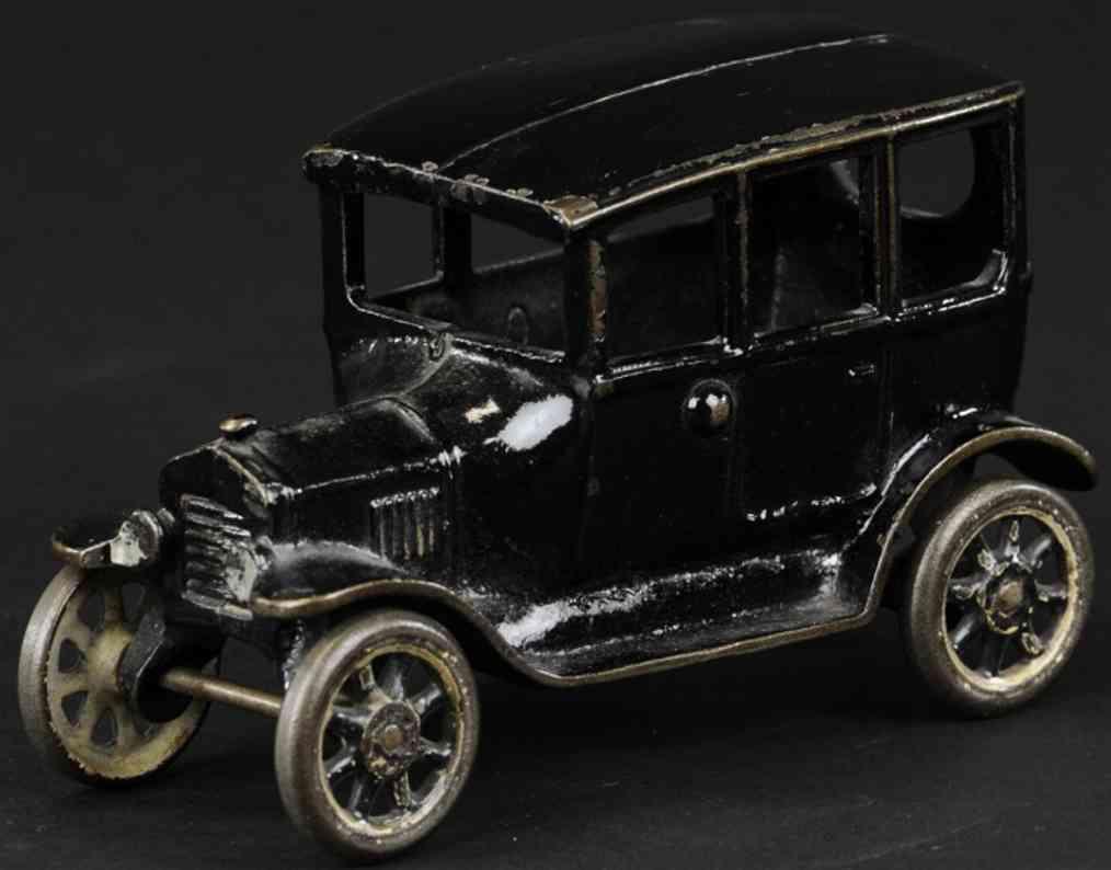 arcade spielzeug gusseisen auto model t schwarz