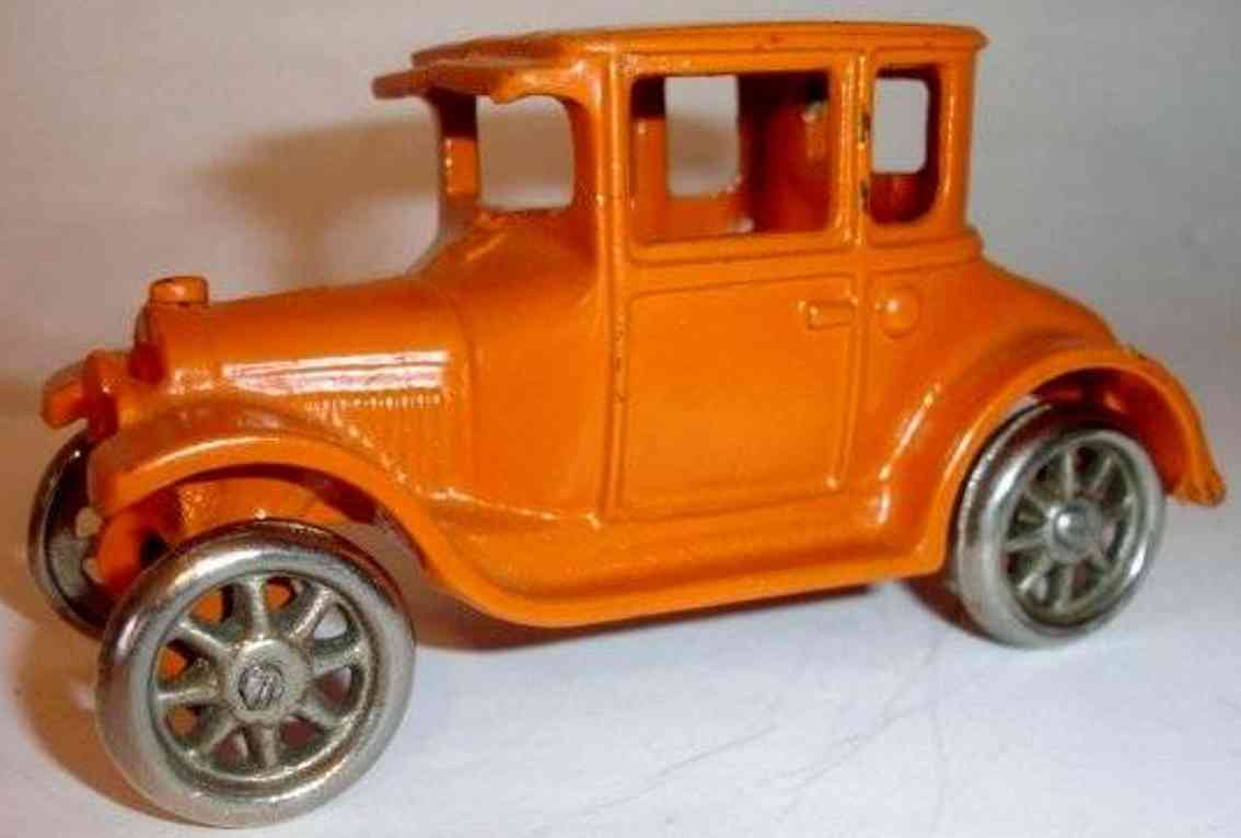 arcade spielzeug gusseisen auto ford coupe rot mid-coupe