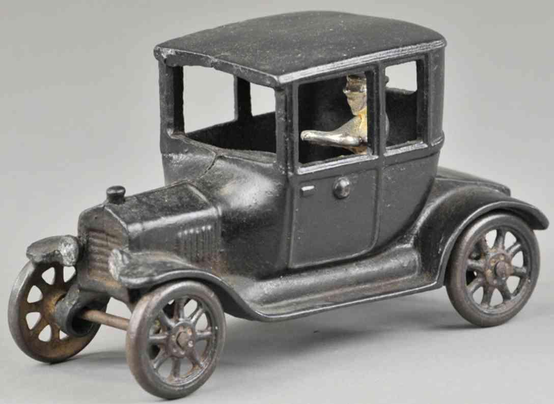 arcade spielzeug gusseisen auto ford modell t coupe schwarz