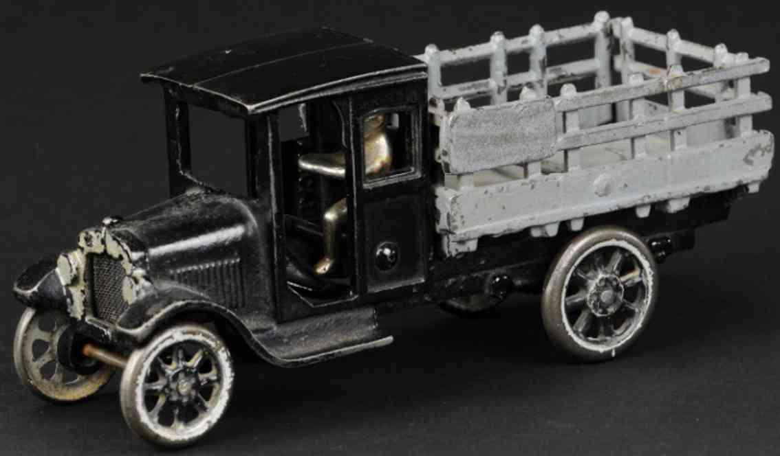 arcade gusseisen chevrolet lieferwagen schwarz