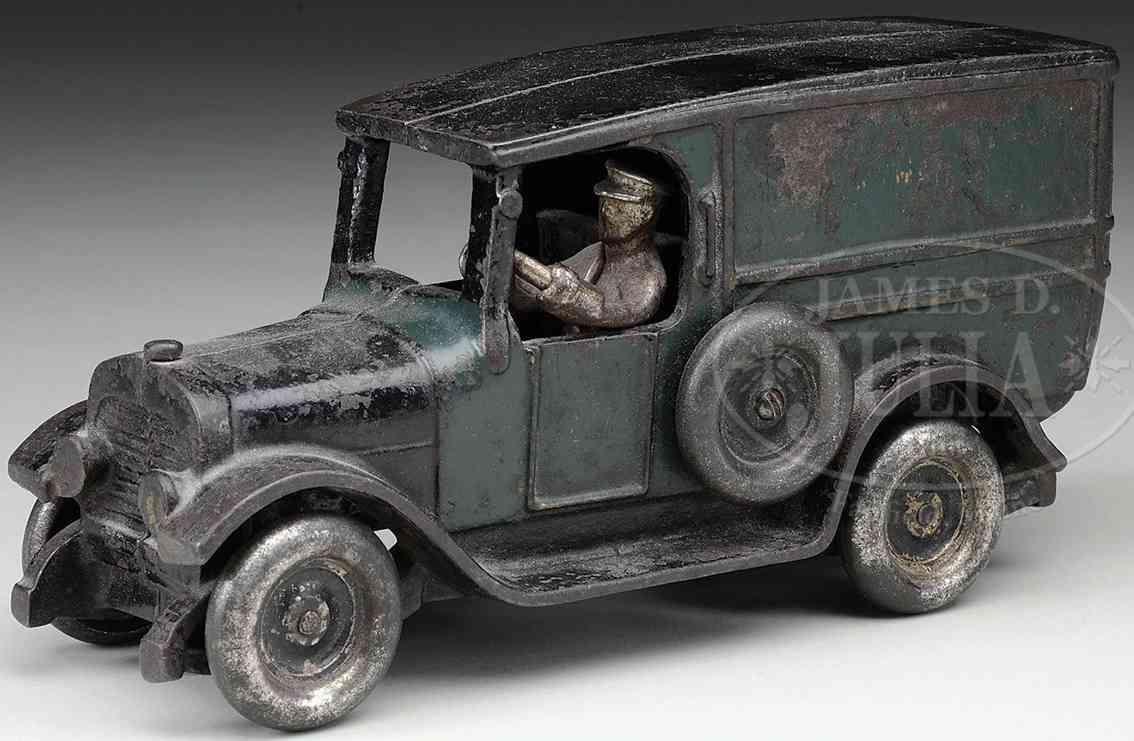 Arcade Spielzeug Wyman's Lieferwagen aus gusseisen