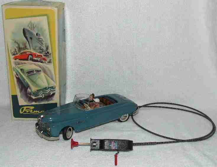 Archer & Sons 3300  Primat Cabrio Convertible Tin Remote Control Toy Car