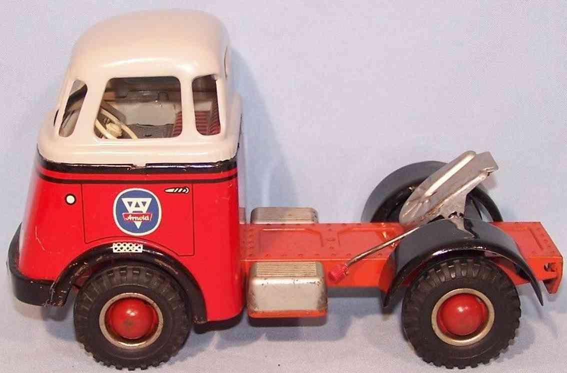 arnold tin toy daf tractor engine with flywheel n-ac 678