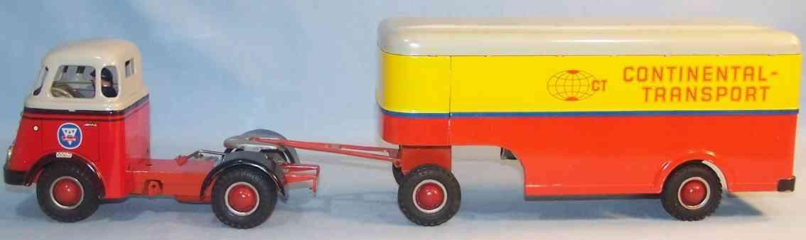 Arnold DAF Lastwagen Continental-Transport