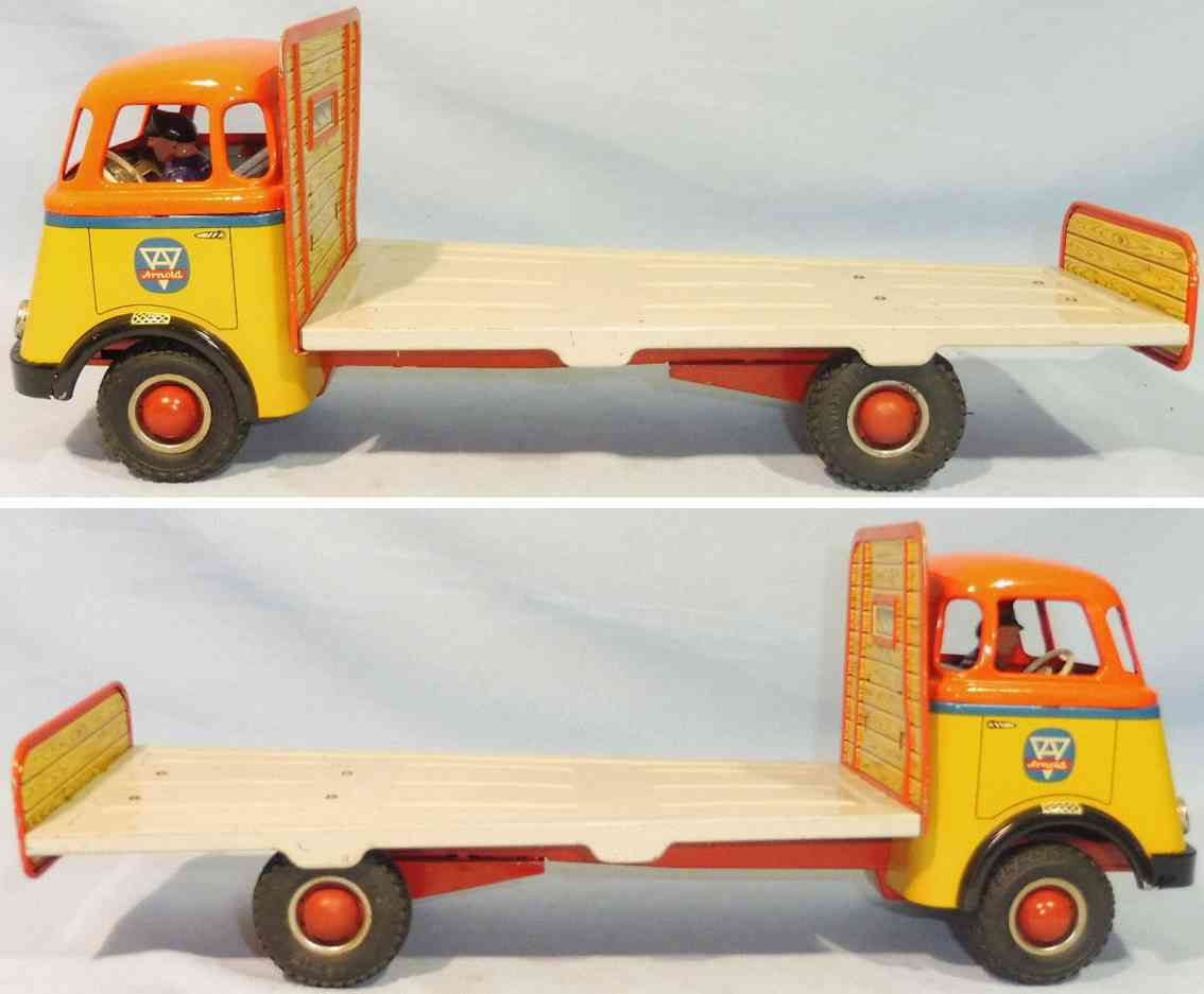 arnold tin toy daf truck flywheel drive