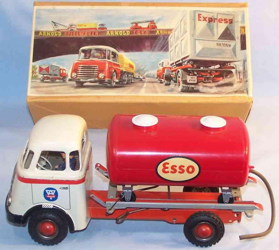 Arnold DAF Lastwagen mit Esso Tank