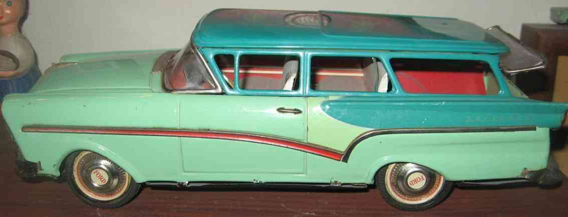 bandai blech spielzeug auto ford kombi mit friktionsantrieb