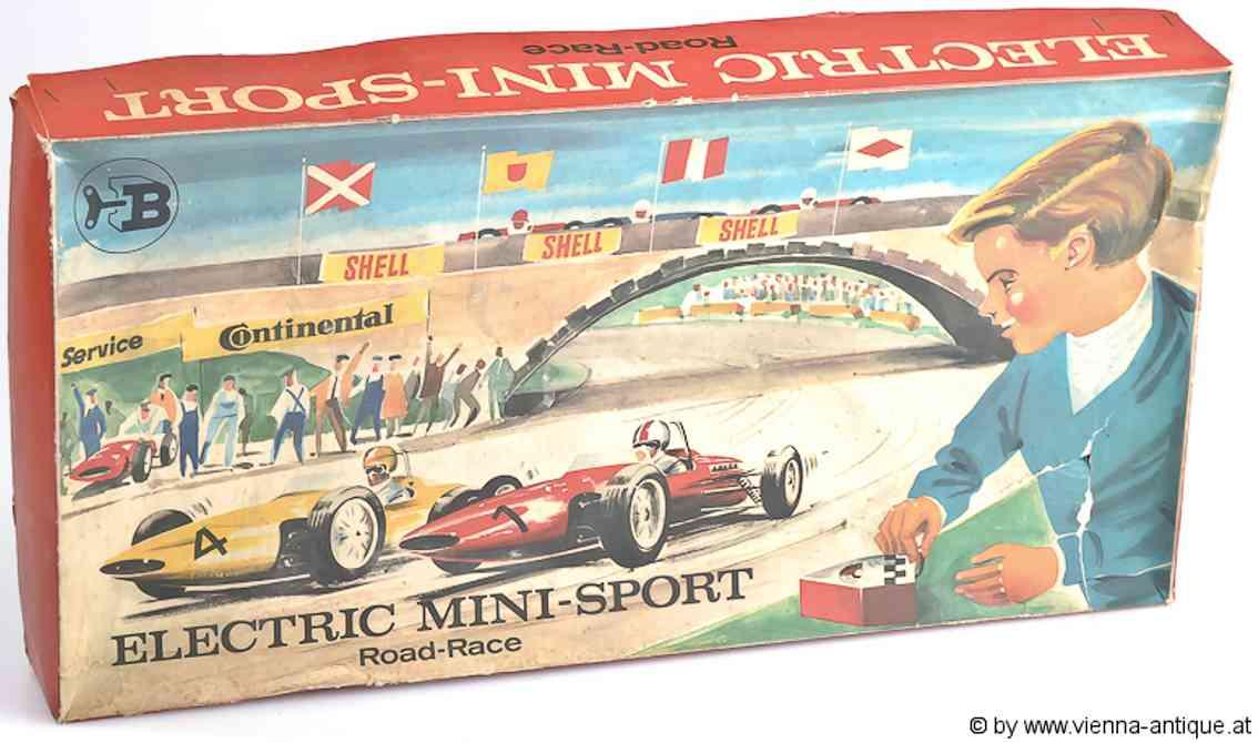biller tin toy highway electric mini sport racetrack