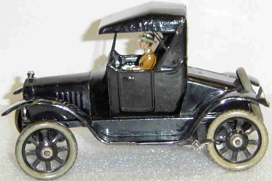 bing 19872 blech spielzeug auto uhrwerk model t ford fahrerin