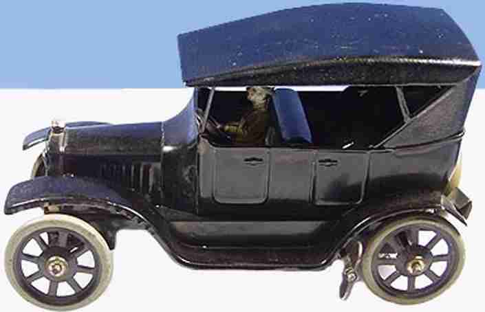 bing blech spielzeug auto ford model t tourenwagen