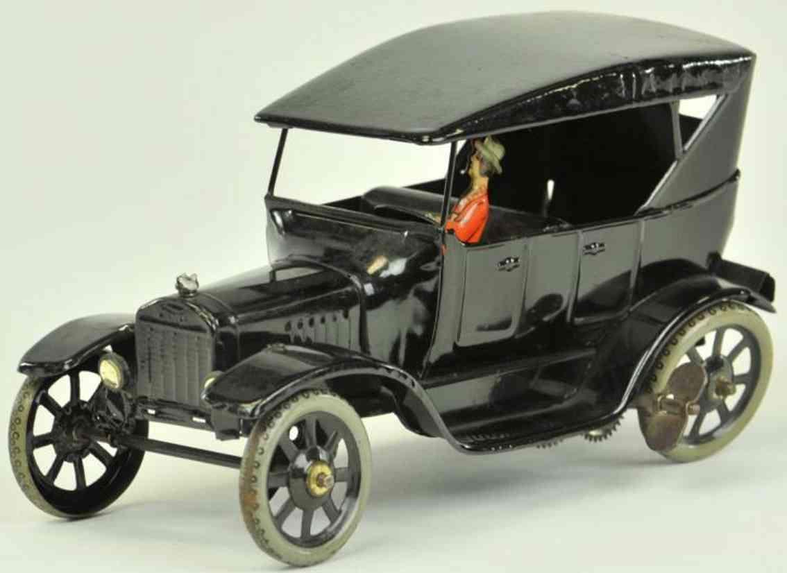 bing 19872 blech spielzeug auto ford modell t tourenwagen uhrwerk