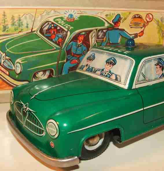 Blomer & Schüler Polizeiauto Borgward Isabella