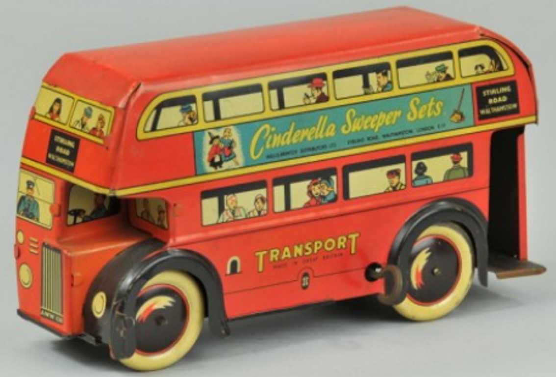 Brimtoy Doppeldeckerbus